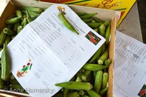 Harvest List